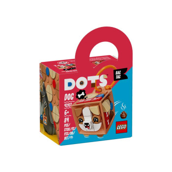 LEGO DOTS BAG TAG DOG