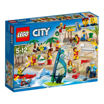 LEGO CITY PEOPLE PACK FUN AT THE BEACH