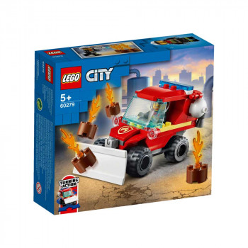 LEGO CITY FIRE HAZARD TRUCK