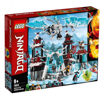 LEGO NINJAGO CASTE OF THE FORESAKEN EMPEROR