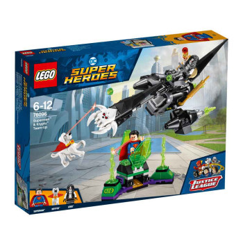 LEGO SUPER HEROES SUPERMAN AND KRYPTO TEAM UP