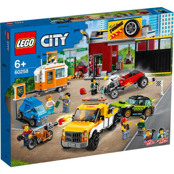 LEGO CITY TURBO WHEELS TUNING WORKSHOP