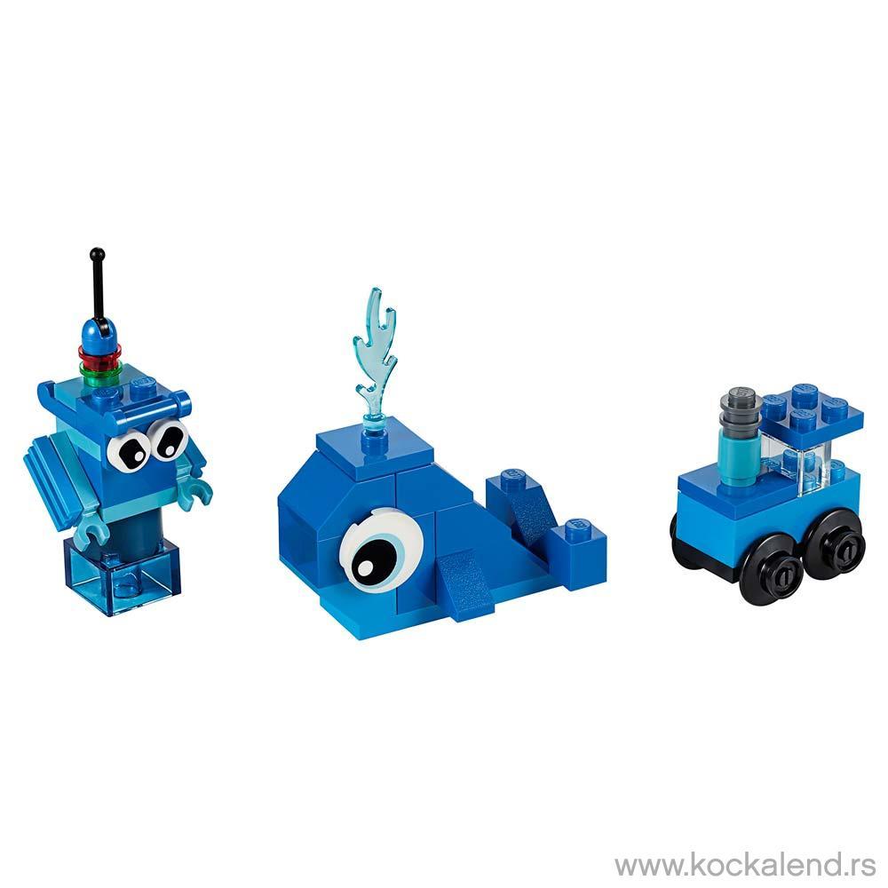 LEGO CLASSIC CREATIVE BLUE BRICKS