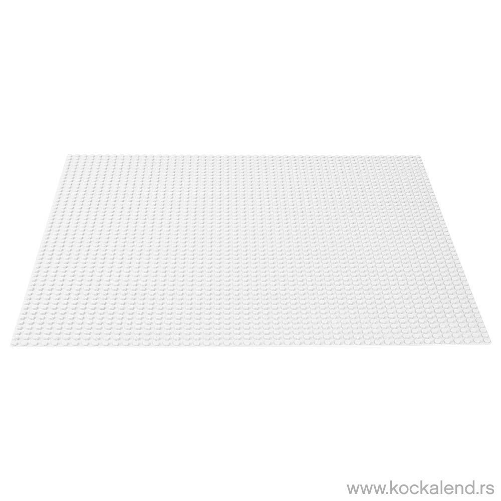 LEGO CLASSIC WHITE BASEPLATE