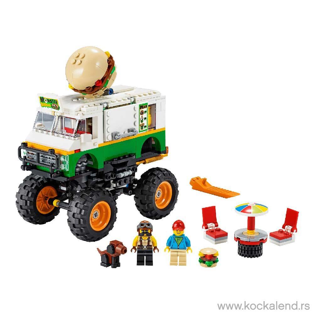 LEGO CREATOR MONSTER BURGER TRUCK V29