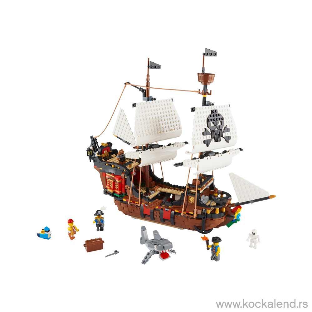 LEGO CREATOR PIRATE SHIP