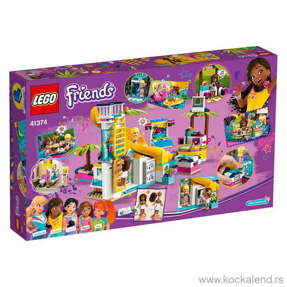 LEGO FRIENDS ANDREAS POOL PARTY