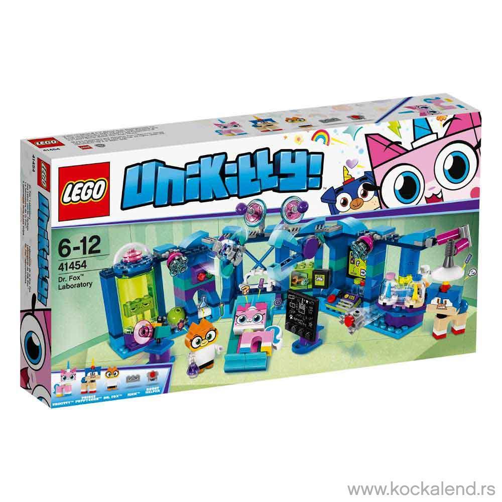 LEGO UNIKITTY DR.FOX LABORATORY