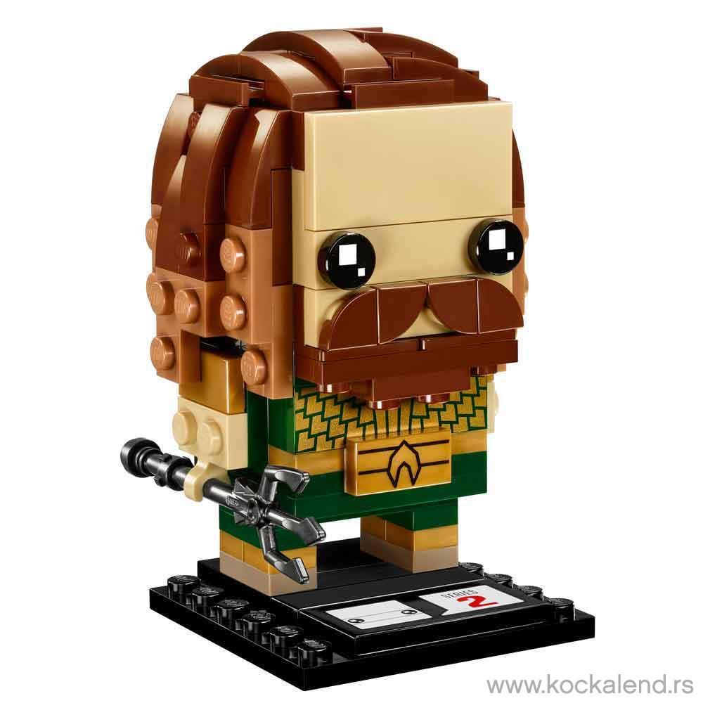 LEGO BRICK HEADZ AQUAMAN