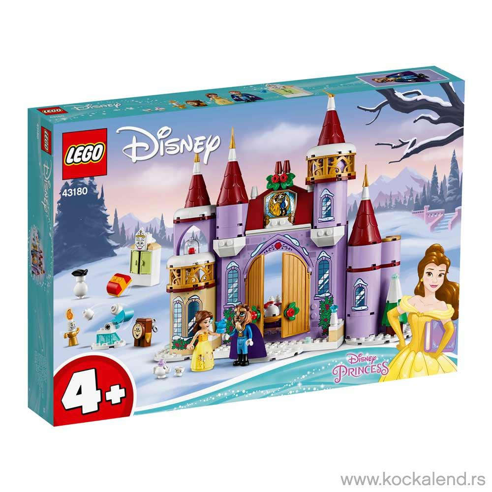 LEGO DISNEY PRINCESS BELLES CASTLE WINTER CELEBRATION