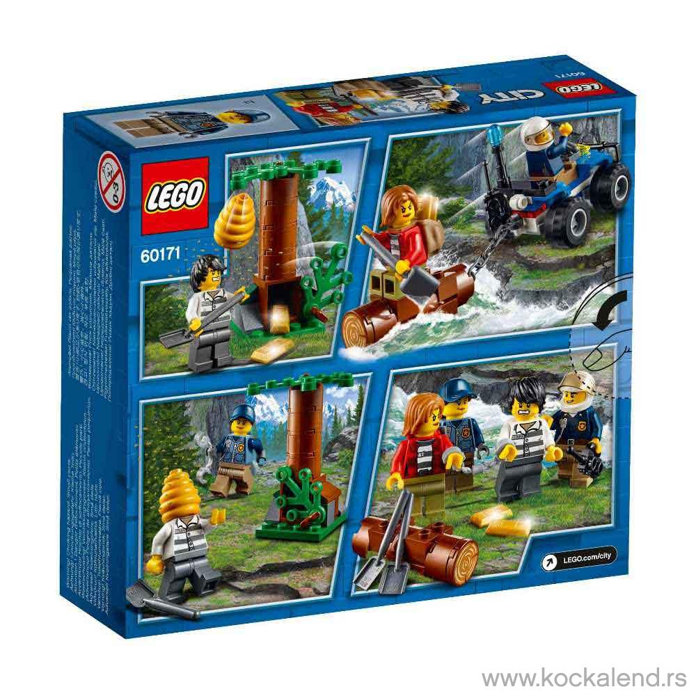 LEGO CITY MOUNTAIN FUGITIVES