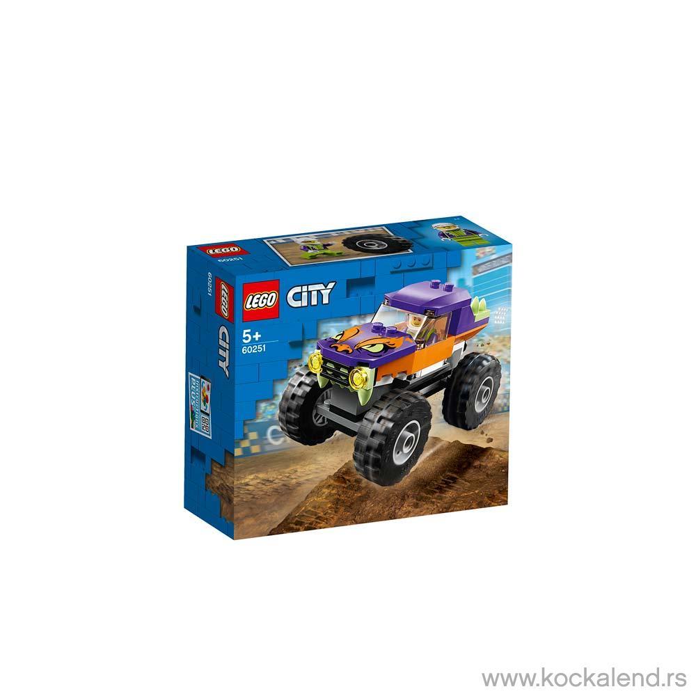 LEGO CITY MONSTER TRUCK