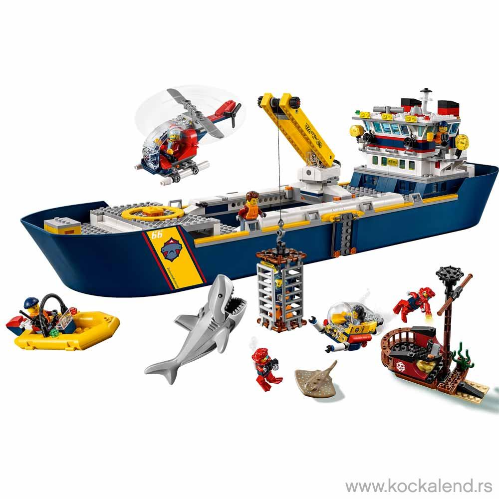 LEGO CITY OCEAN EXPLORATION SHIP