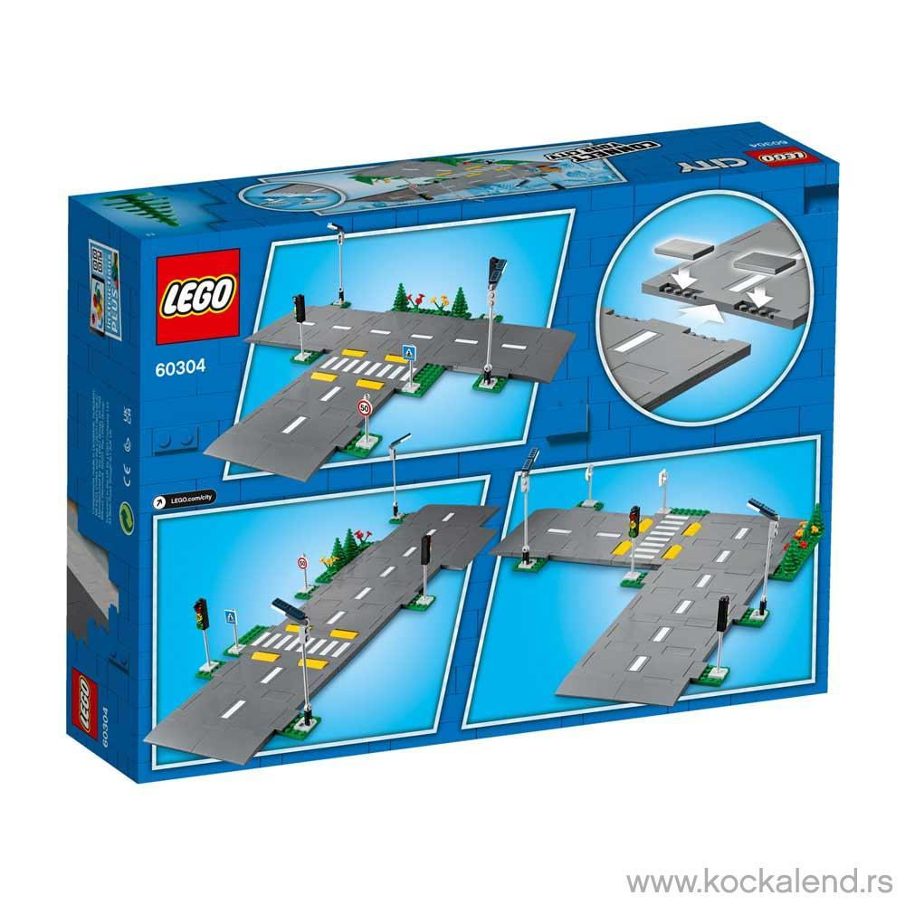 LEGO CITY ROAD PLATES