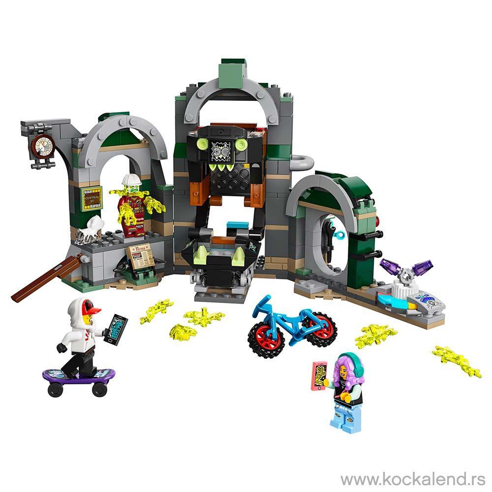 LEGO HIDDEN SIDE NEWBURY SUBWAY