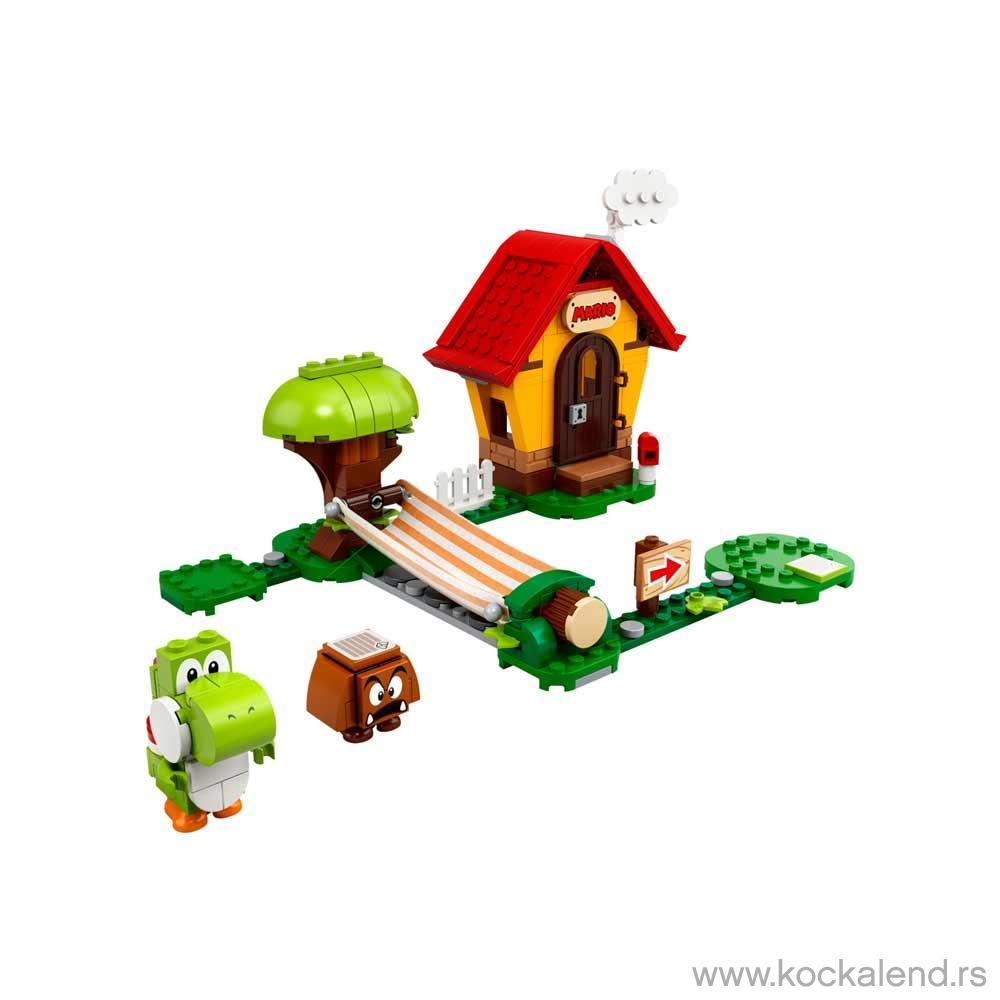 LEGO SUPER MARIO MARIO S HOUSE   YOSHI EXPANSION SET