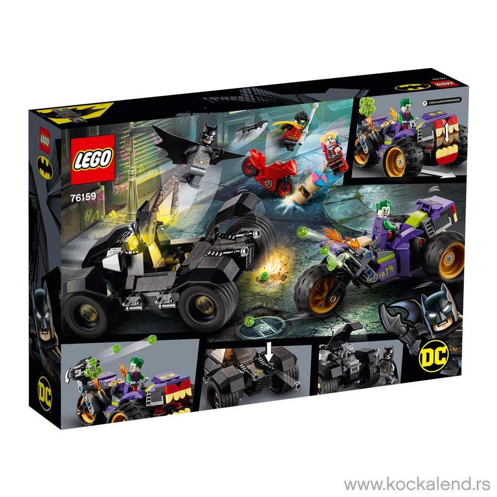 LEGO DC BATMAN JOKERS TRIKE CHASE